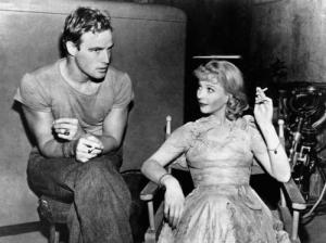 Marlon Brando and Vivien Leigh at the Actors' Studio in Carnegie Hall