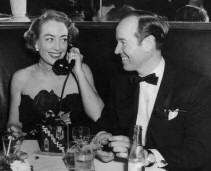 Earl Blackwell and Joan Crawford