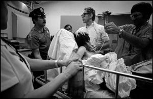 Injured patient