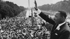 Martin Luther King Jr in Washington
