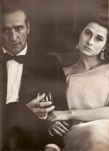 Howard Oxenberg and his wife, Princess Elizabeth of Jugoslavia