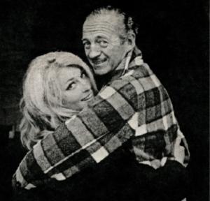Sharon Tate & David Niven