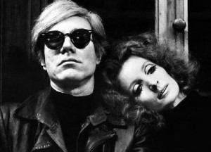 Andy Warhol and Viva in Blue Movie