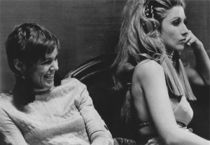 Edie Sedgwick and Baby Jane Holzer