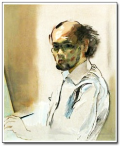 Frederico Aguilar Alcuaz, self-portrait