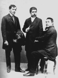 Dr Jose Rizal and his fellow Illustrados