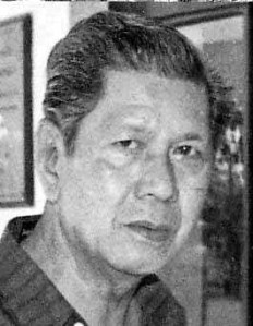 Filipino writer, Nick Joaquin