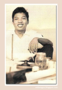 Nonoy Marcelo, cartoonist and creator of Tisoy