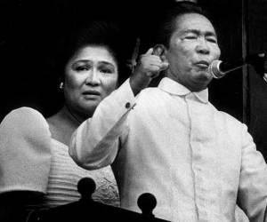 Imelda and Ferdinand Marcos