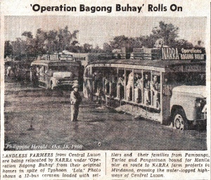 Open-sided buses in the Mountain Province 1960s