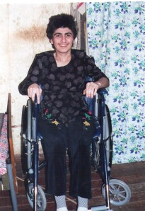 Gamila Aliyev & new wheelchair