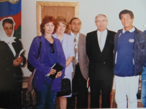 CK and SL with Azeri minister