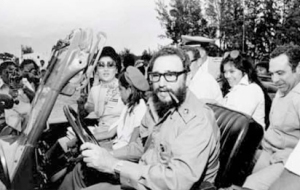 Fidel Castro and Imelda Marcos