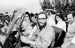 Fidel Castro and Imelda Marcos