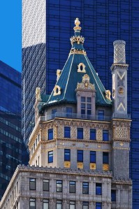 Crown Building on New York's 5th Avenue