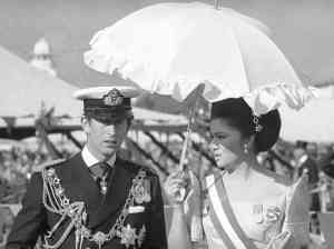 Imelda Marcos with Prince Charles