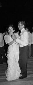 Imelda Marcos dancing with George Hamilton