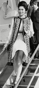 Imelda Marcos off on a shopping spree