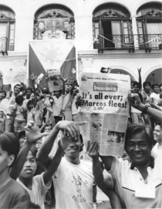 Overthrow of Ferdinand Marcos 1986