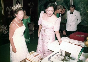 Princess Margaret with Imelda Marcos