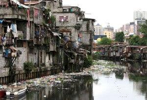Squatters in Manila