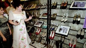imelda and shoe collection