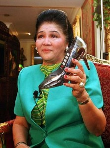 imelda and shoe