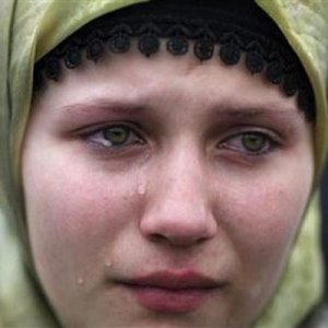 bosnian refugee girl