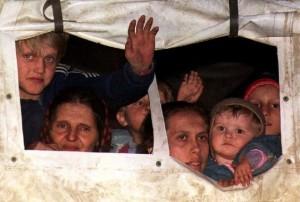 Bosnia-Herzegovina: A group of Bosnian r