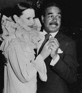 Bobby Short and Gloria Vanderbilt