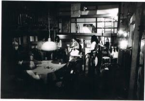 Inside Los Indios Bravos Cafe, Mabini, Manila