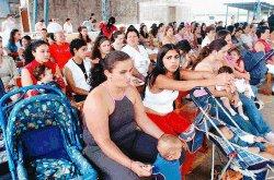 Women in El Buen Pastor celebrating Mass