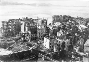 Zadar after the bombing