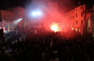 Zadar during the bombing