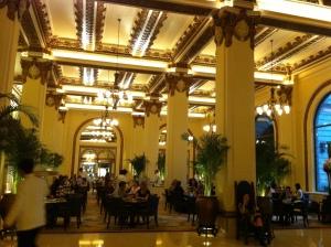 peninsula lobby