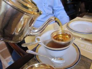Tea in the Peninsula lobby
