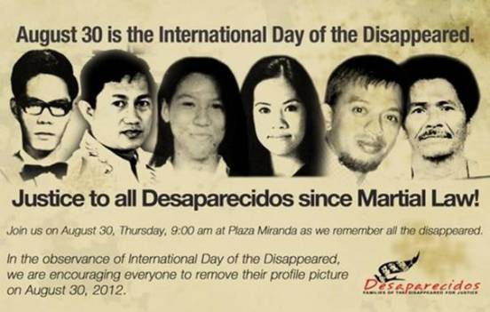 Disappeared Martial Law