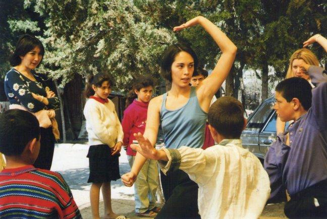 mayumi teaching movement